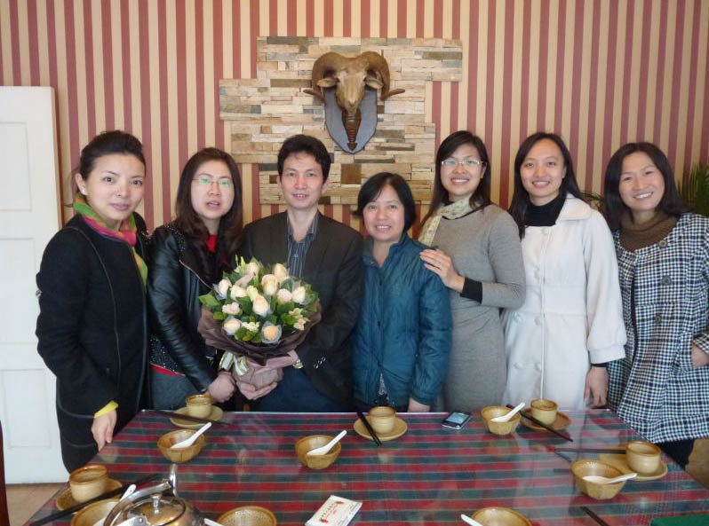 叶纯和星期三小组成员,东莞彭蓝飞心理咨询中心图片